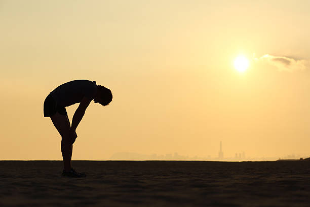 Tired running trying to lose weight for fitness health without motivation when exercising