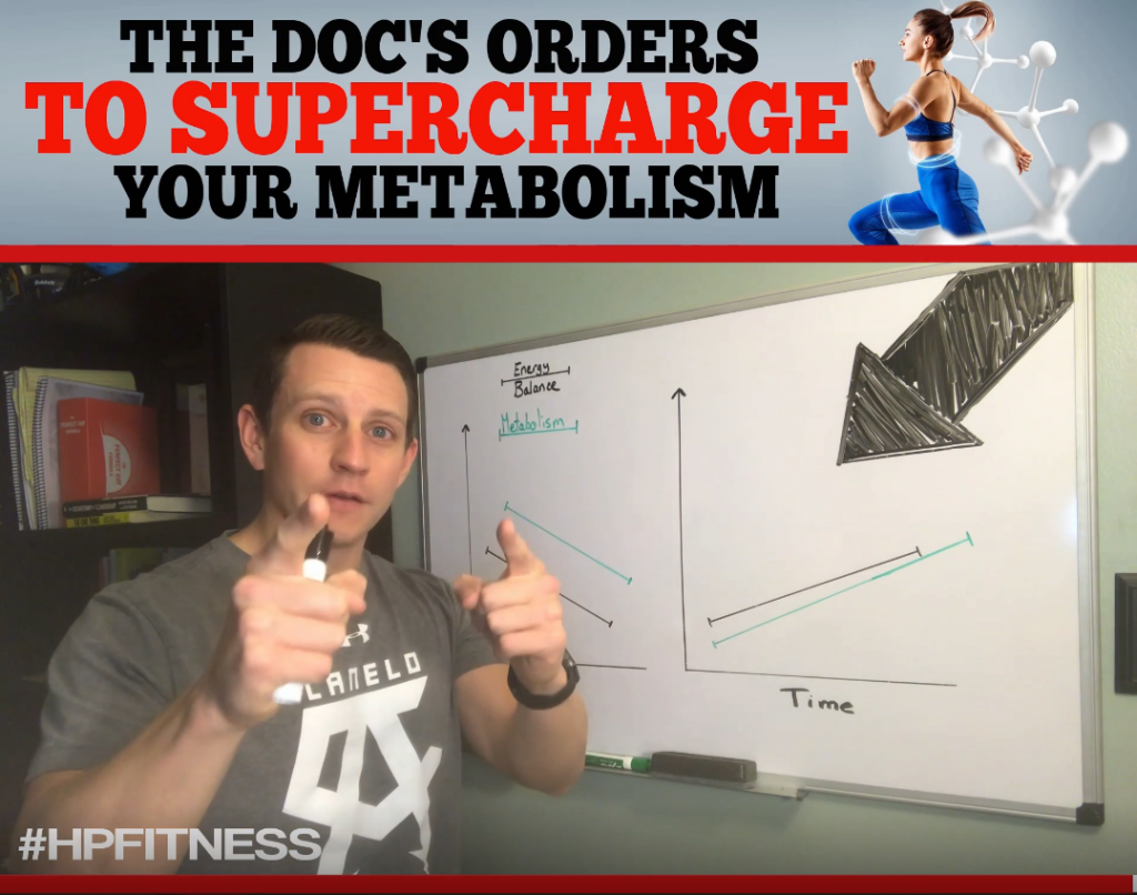 The Doc's To Supercharge Your Metabolism