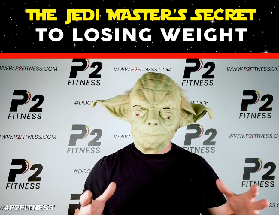 """The Jedi Master's """"Secret"""" To Losing Weight"""