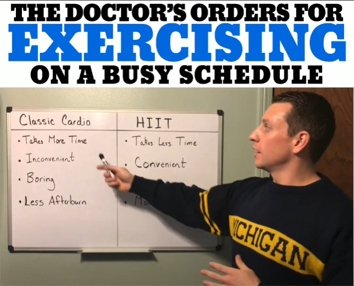 The Doctor's Orders For Exercising On A Busy Schedule